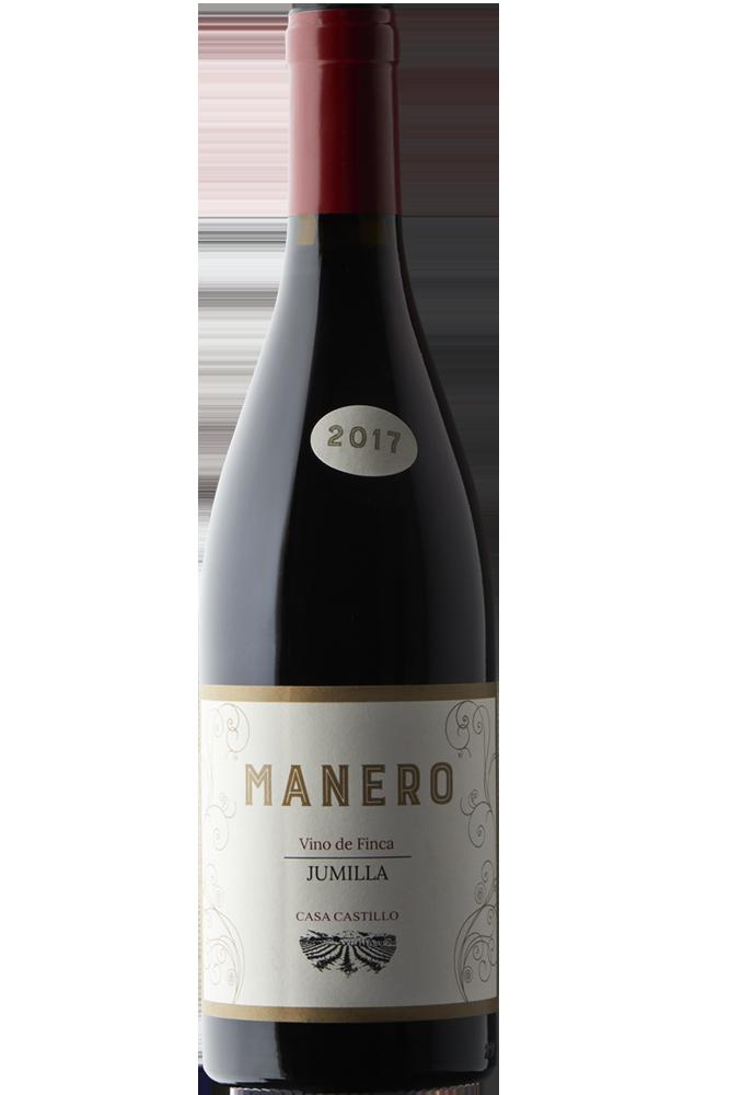 Botella de vino tinto Casa Castillo MANERO D.O Jumilla