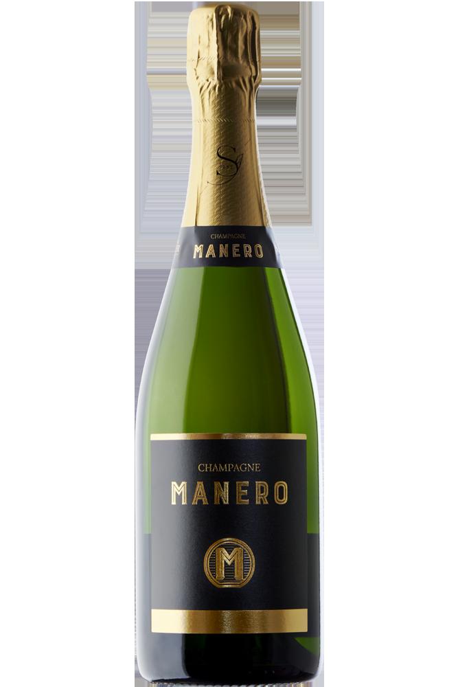 Botella de champagne MANERO
