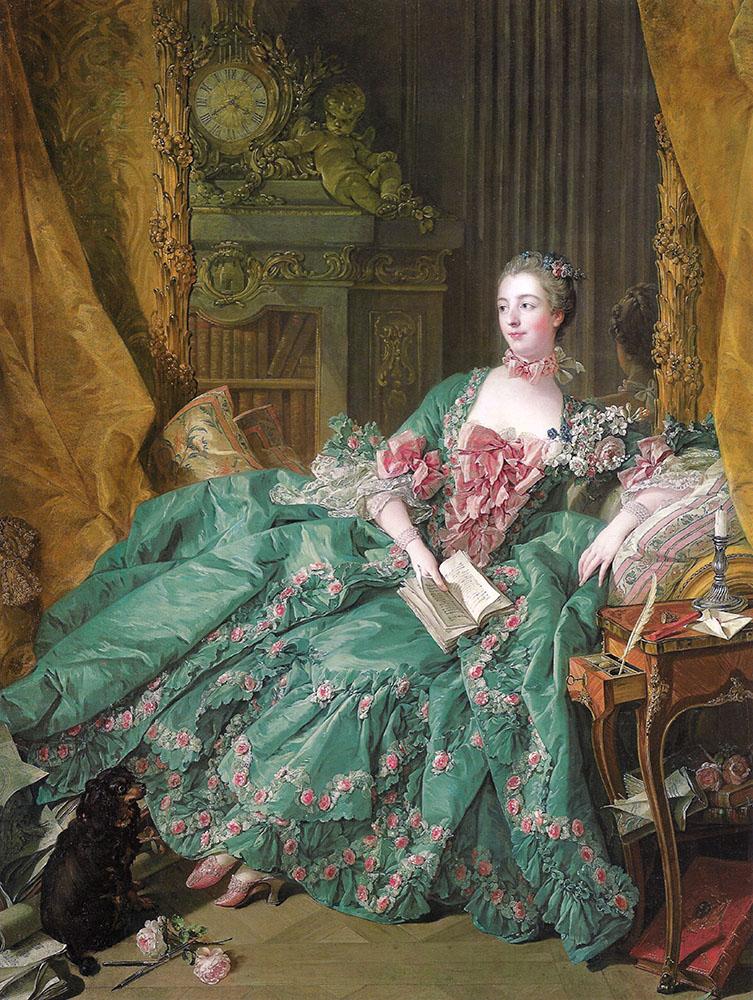 Madame de Pompadour, François Boucher, 1756
