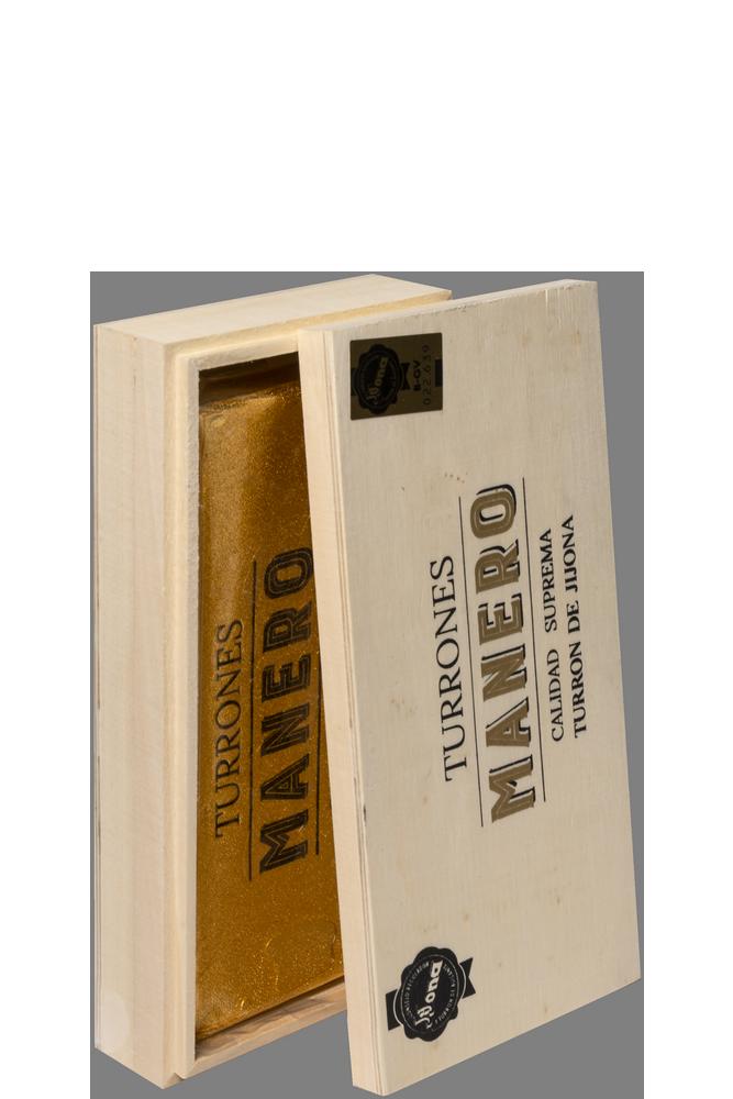 Pastilla de Turrón MANERO variedad Jijona calidad suprema