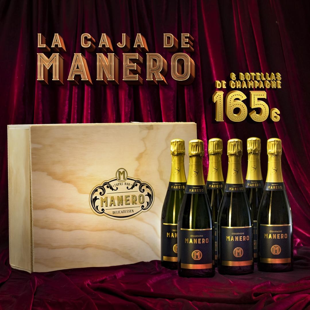 La Caja Manero Champagne 165€